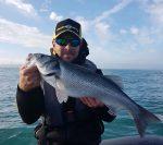 Yoann Bigné pêche plaisir à Saint Malo