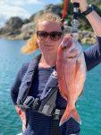 Pêche en baie de Morlais avec Yoann Henry guide de pêche professionnel