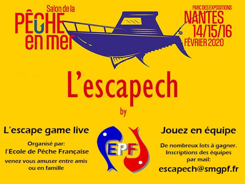 Escapech au salon pêche en mer de Nantes