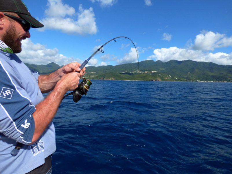 Portrait de guide. Julien GIRAUD-RAUCH, moniteur guide de pêche en Nouvelle Aquitaine.