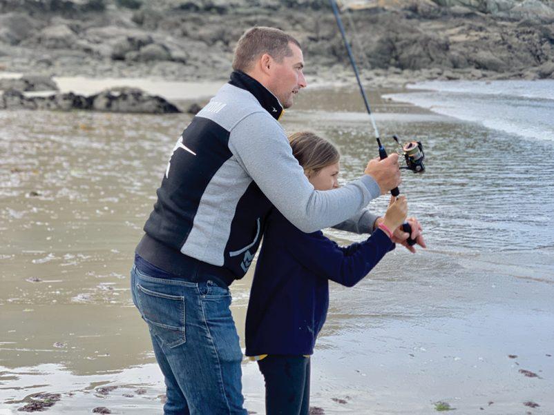 Portrait de guide. Yoann HENRY, moniteur guide de pêche en Finistère nord