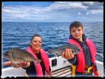 Pêche de la dorade en famille