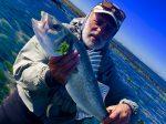 Pêche à la mouche et aux leurres sur Île de Ré (Bord de mer, Charente-Maritime)
